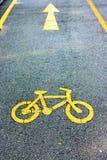 Ruelle de vélo Photographie stock libre de droits