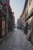 Ruelle de xinjin de la Chine Zhenjiang photo libre de droits