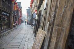 Ruelle de xinjin de la Chine Zhenjiang photographie stock