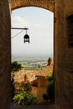 Ruelle en Toscane images libres de droits