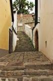 Ruelle européenne type dans Szentendre Hongrie Photos stock