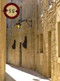 Ruelle médiévale étroite photographie stock