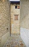 Ruelle médiévale Photo libre de droits