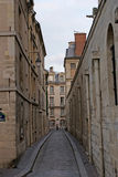 Ruelle a paris Stock Photography