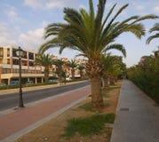 Ruelle Rethymno Crète photos stock