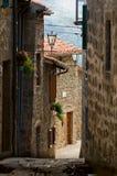 ruelle Toscane Photos libres de droits