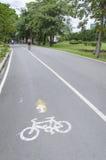 Ruelles de vélo Photographie stock
