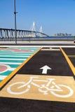 Ruelles de vélo Photos libres de droits