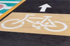 Ruelles de vélo Photo libre de droits