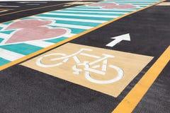 Ruelles de vélo Photographie stock libre de droits