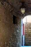 Ruelles dedans dans le ligure de Varèse, Ligurie, Italie Photos libres de droits