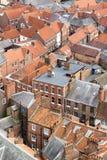 Rues anglaises médiévales Images libres de droits