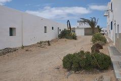 Rues d'île de Graciosa de La Images libres de droits