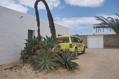 Rues d'île de Graciosa de La Photo libre de droits