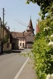 Rues d'Allaman Images stock