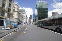 Rues d'Auckland Nouvelle Zélande Images stock