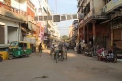 Rues dans l'Inde Photographie stock libre de droits