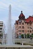 Rues dans Szeged, Hongrie images libres de droits
