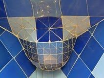 Rues de bâtiments de Barcelone et beauté de ville d'Antoni Gaudi Photographie stock