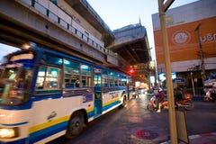 Rues de Bangkok Image libre de droits