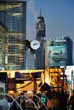 Rues de Bangkok. Image stock