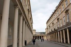 Rues de Bath Images libres de droits