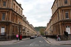 Rues de Bath Photos libres de droits