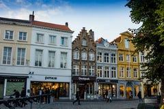 Rues de Bruges photo stock