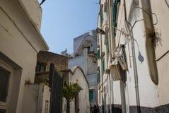 Rues de Capri, Italie photographie stock libre de droits