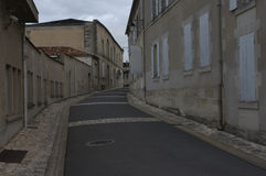Rues de cognac. 1. Photo stock