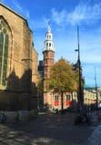 Rues de Delft, la Hollande-Méridionale photographie stock