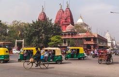 Rues de Delhi, Inde Photos libres de droits