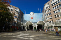 Rues de Dusseldorf Photos libres de droits