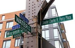 Rues de Georgetown Photo stock