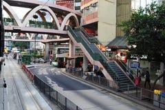 Rues de Hong Kong Photos stock