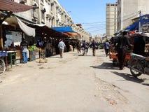 Rues de Karbala, Irak photos stock