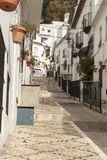 Rues de l'Espagne Photos stock