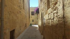 Rues de Malte Photos libres de droits