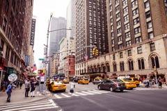 Rues de Manhattan Image stock