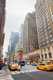 Rues de Manhattan Image libre de droits