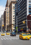 Rues de Manhattan Photo stock