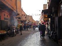 Rues de Marrakech Photos libres de droits