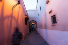 Rues de Marrakech Image libre de droits