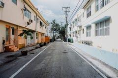 Rues de Miami photo libre de droits