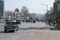 Rues de Mumbai Images stock