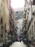 Rues de Naples, Italie Image libre de droits
