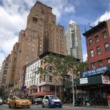 Rues de New York Images libres de droits