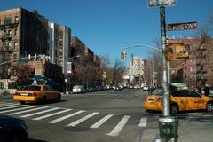 Rues de New York Photos libres de droits