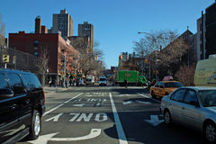 Rues de New York Photos stock