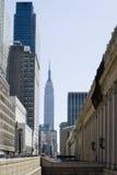 Rues de New York City Images libres de droits